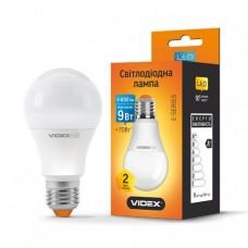 LED лампа VIDEX A60e 9W E27 4100K 220V