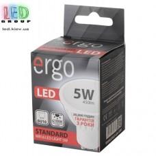 LED лампа ERGO Standard MR16 GU10 5W 220V 4100K Нейтральный белый
