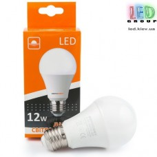 Светодиодная лампа A-12 12W 3000K E27 220V A-12-3000-27