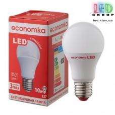 Светодиодная лампа ECONOMKA, А60, LED, 10W, Е27, 4200К