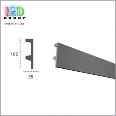 Профиль TESORI из полиуретана под покраску для светодиодных лент, KF 504