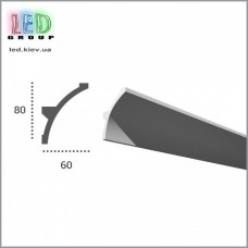 Профиль TESORI из полиуретана под покраску для светодиодных лент, KF 702