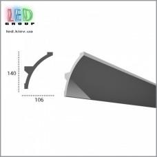 Профиль TESORI из полиуретана под покраску для светодиодных лент, KF 708