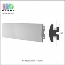 Профиль TESORI из экструдированного пенополистерола под покраску для светодиодных лент, KD 305