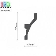 Профиль TESORI из экструдированного пенополистерола под покраску для светодиодных лент, KF 719
