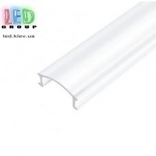 Рассеиватель матовый для алюминиевого профиля, поликарбонат (2 метра)