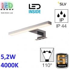 Настенный LED светильник SLV, 5.2W, 4000K, DORISA 30, хром. Германия!