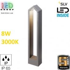Напольный LED светильник SLV 8W, 3000K, RASCALI 65 POLE, антрацит. Германия!