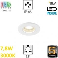 Потолочный LED светильник SLV 7,8W, 3000K, KAMUELA, противопожарный, белый. Германия! Гарантия 5 лет!!!
