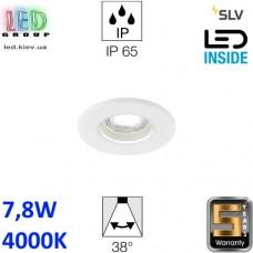Потолочный LED светильник SLV 7,8W, 4000K, KAMUELA, противопожарный, белый. Германия! Гарантия 5 лет!!!