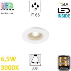 Потолочный LED светильник SLV 6,5W, 3000K, KAMUELA, противопожарный, белый. Германия!