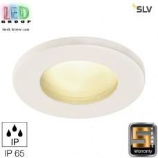 Светильник/корпус SLV, потолочный, алюминий/стекло, IP65, круглый, белый, DOLIX OUT QR-C51. Германия! Гарантия 5 лет!!!