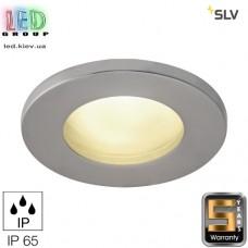 Светильник/корпус SLV, потолочный, алюминий/стекло, IP65, круглый, титан, DOLIX OUT QR-C51. Германия! Гарантия 5 лет!!!