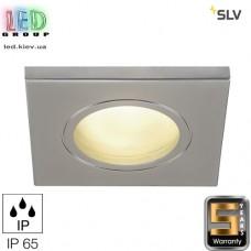 Светильник/корпус SLV, потолочный, алюминий/стекло, IP65, квадрат, титан, DOLIX OUT QR-C51. Германия! Гарантия 5 лет!!!