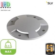 Крышка SLV для тротуарного LED светильника, алюминий, двухсторонняя, макс. 0.5 т, BIG PLOT, серебристый. Германия! Гарантия 5 лет!!!
