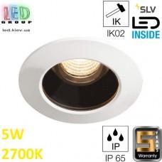Потолочный LED светильник SLV 5W, 2700K, VARU DL, белый. Германия! Гарантия 5 лет!!!