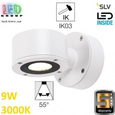Настенный LED светильник SLV, 9W, 3000K, белый, SITRA WL. Германия!
