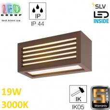 Настенный LED светильник SLV 19W, 3000K, бурый, BOX_L. Германия!