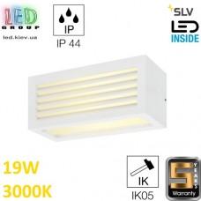 Настенный LED светильник SLV, 19W, 3000K, белый, BOX_L. Германия