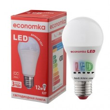 Светодиодная лампа ECONOMKA, А60, LED, 12W, Е27, 4200К