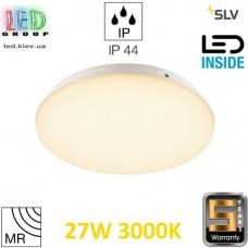 Настенный/потолочный LED светильник SLV 27W, 3000K, датчик движения, SIMA, белый. Германия!