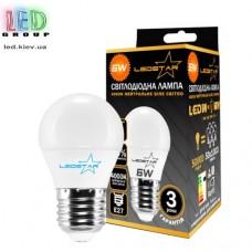 Cветодиодная лампа LEDSTAR G45-E27-6W (4000К)