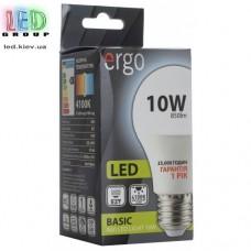 LED лампа ERGO Basic A60 E27 10W 220V 4100K Нейтральный белый