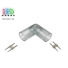 Коннектор угловой для соединения отрезков LED NEON ROUND (круглый)
