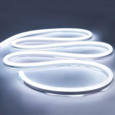Светодиодный гибкий неон 12V, LED NEON, цвет свечения - холодный белый