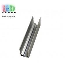 Монтажный алюминиевый мини профиль/скоба для LED NEON, 220V - 17x9мм и 15x8мм, 12V