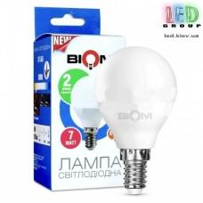 Светодиодная лампа Biom BT-566, G45, 7W, E14, 4500К