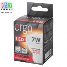 LED лампа ERGO Standard MR16 GU10 7W 220V 3000K Теплый белый