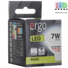 LED лампа ERGO Basic MR16 GU5.3 7W 220V 4100K Нейтральный белый