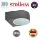 Cветильник/корпус, Strühm Poland, IP54, фасадный, накладной, алюминий + PC, круглый, тёмно-серый, 1xE27, LIMO. ЕВРОПА!