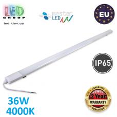 Светодиодный линейный светильник LED, master LED, 36W, 4000K, IP65, RA>70, Zenit. Польша!