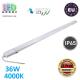 Светодиодный линейный светильник LED, master LED, 36W, 4000K, IP65, RA≥70, Zenit, накладной, пластик, серый. ЕВРОПА!