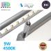 Настенный светодиодный светильник, master LED, 9W, 4500K, IP20, RA≥80, накладной, Sonia, нержавеющая сталь, хром. ЕВРОПА!