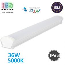 Светодиодный линейный светильник, master LED, 36W, 5000K, IP65, PF>0.9, SXR, PC. Польша!