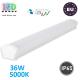 Светодиодный линейный светильник, master LED, 36W, 5000K, IP65, PF>0.9, SXR, накладной, PC. ЕВРОПА!