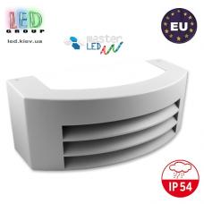 Светильник/корпус master LED, IP54, фасадный, накладной, алюминий + PC, тёмно-серый, 1xE27, Corso. Польша!