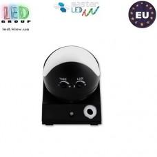 Датчик движения с регулировкой чувствительности сумерек, master LED, 1200W, IP44, 180, CR-1, чёрный. ЕВРОПА!!!