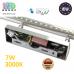 Настенный светодиодный светильник, master LED, 7W, 3000K, IP20, RA≥80, накладной, Sonia, нержавеющая сталь, хром. ЕВРОПА!