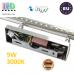 Настенный светодиодный светильник, master LED, 9W, 3000K, IP20, RA≥80, накладной, Sonia, нержавеющая сталь, хром. ЕВРОПА!