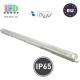 Корпус для ламп Т8,master LED, 1х1200мм, IP65, односторонний, накладной, ABS + полистирол, прозрачный, Clear. Польша!