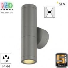 Светильник/корпус SLV, настенный, алюминий/стекло, IP44, круглый, серебристый, ASTINA. Германия! Гарантия 5 лет!!!