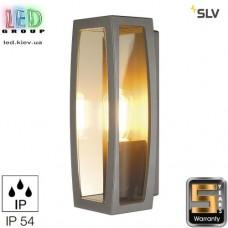 Светильник/корпус SLV, потолочный/настенный, алюминий/пластик, IP54, антрацит, MERIDIAN BOX 2. Германия!