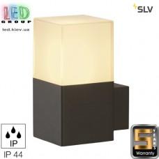 Светильник/корпус SLV, настенный, алюминий/пластик, IP44, круглый, антрацит, GRAFIT WL. Германия!
