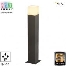 Светильник/корпус SLV, напольный, алюминий/пластик, IP44, квадрат, антрацит, GRAFIT 60. Германия!