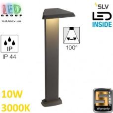 Напольный LED светильник SLV, 10W, 3000K, IP44, TRAPECCO, алюминий, антрацит. Германия