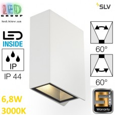 Настенный LED светильник SLV, 6.8W, 3000K, QUAD UP/DOWN, белый. Германия!